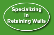 Retaining Wall contracter